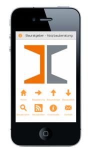 Bauratgeber App für Smartphone Android und Apple